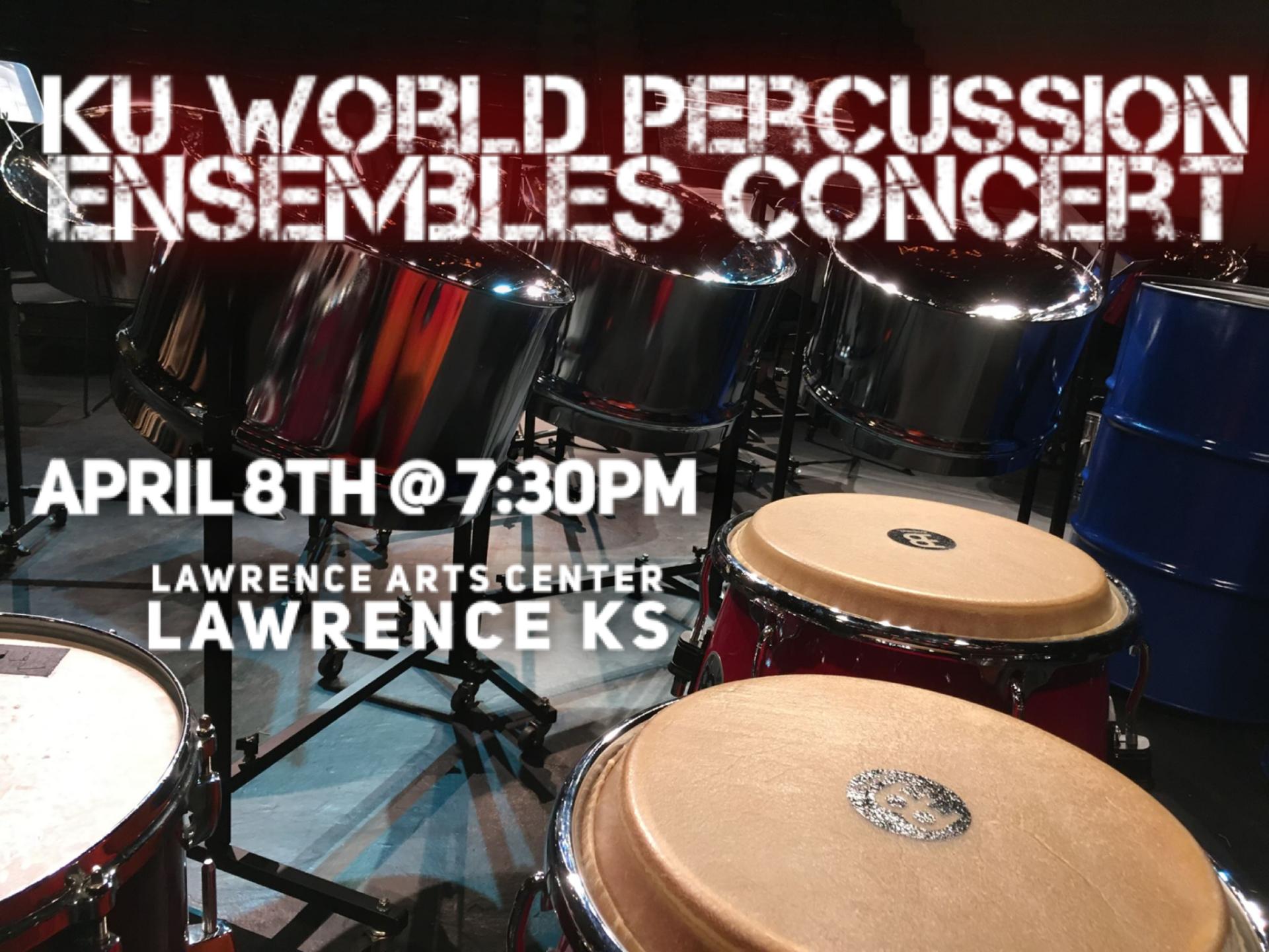 GUEST PRODUCTION | KU World Percussion Ensembles